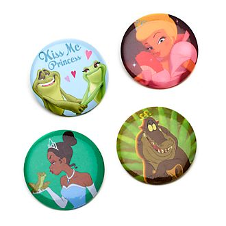 Disney Store Princess and the Frog Pin Badges