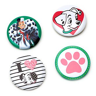 Disney Store 101 Dalmatians Pin Badges