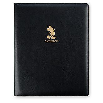 Padfolio exclusivo Mickey Mouse, colección dorada, Disney Store