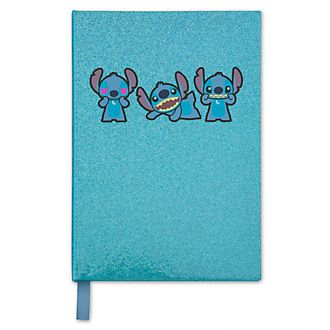 Disney Store Stitch Glittery Journal