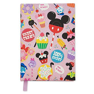 Disney Store Mickey and Friends Sweets Journal