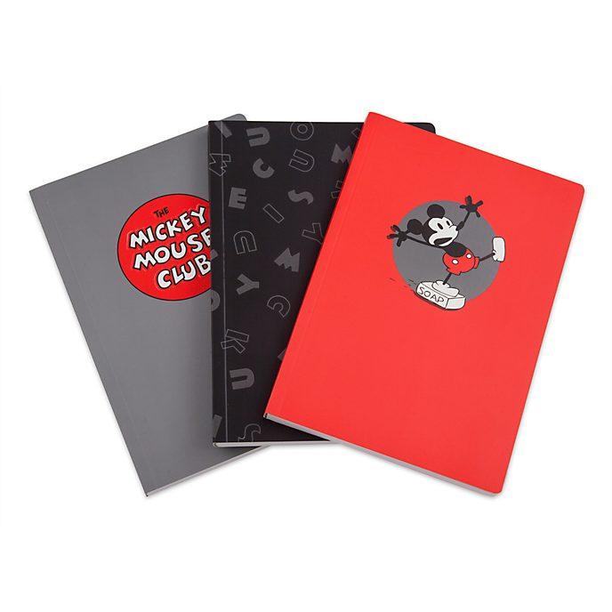 Disney Store - Micky Maus - Notizbücher, 3-teiliges Set