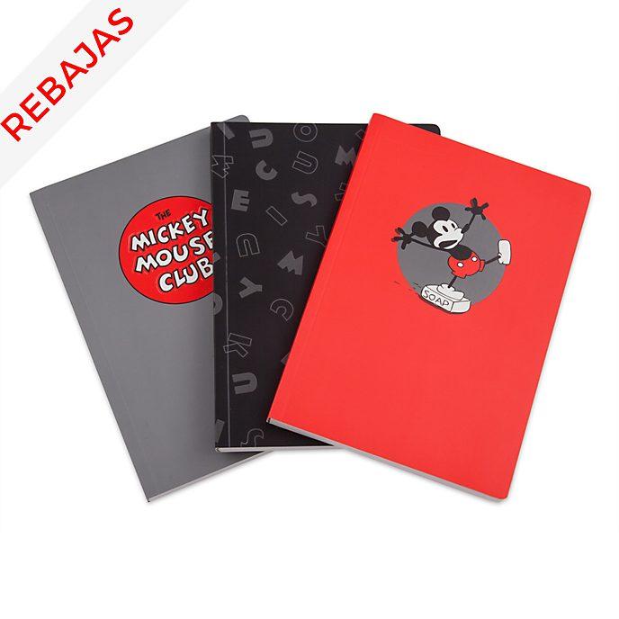 Cuadernos Mickey Mouse, Disney Store (3u.)