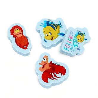 Disney Store Lot de gommes La Petite Sirène