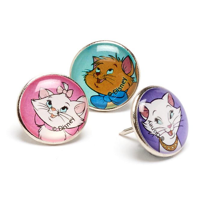 Disney Store The Aristocats Push Pins