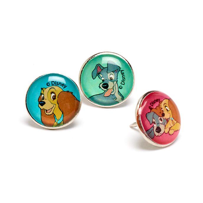 Disney Store - Susi und Strolch - Anstecknadeln