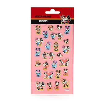 Disney Store Autocollants Mickey et Minnie Mouse