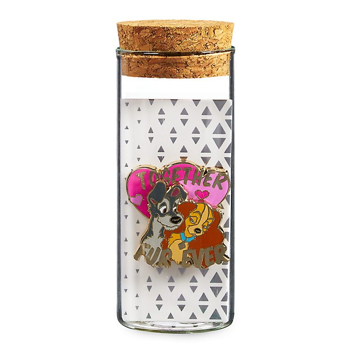Disney Store Lady and the Tramp Pin
