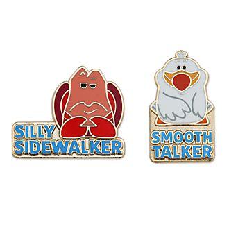 Disney Store - Sebastian und Scuttle (Arielle, die Meerjungfrau) - Anstecknadelset