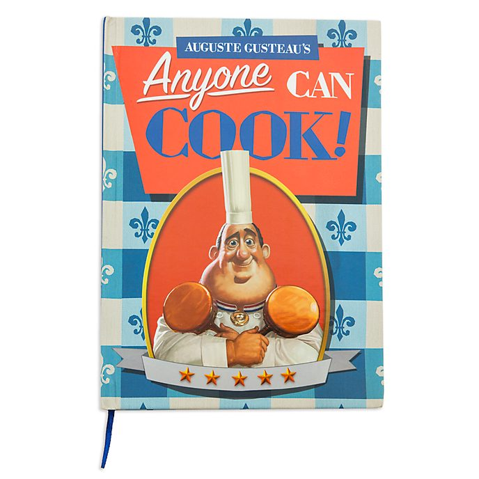 Disney Store Auguste Gusteau's Cookbook Journal, Ratatouille