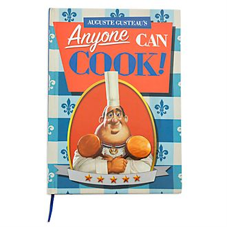 Disney Store - Ratatouille - Auguste Gusteaus Kochbuch - Notizbuch