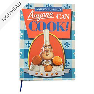 Disney Store Carnet livre de cuisine d'Auguste Gusteau, Ratatouille