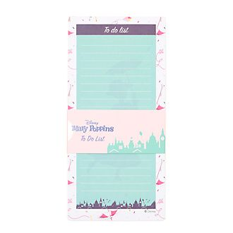 Disney Store Mary Poppins Returns Magnetic To-Do List
