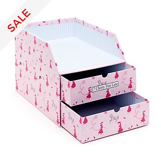 Disney Store Mary Poppins Storage Drawers