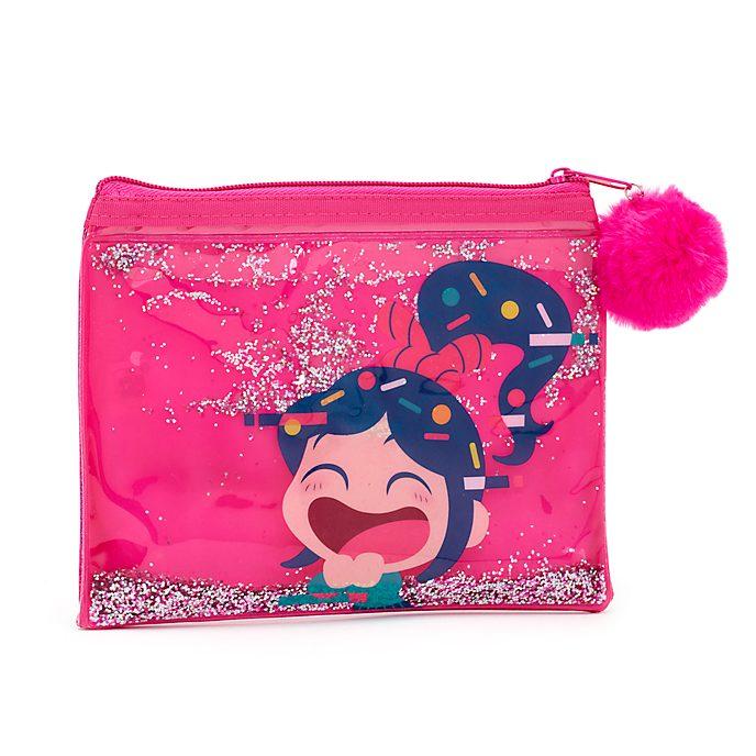Disney Store Vanellope Glitter Fill Pencil Case, Wreck-It Ralph 2