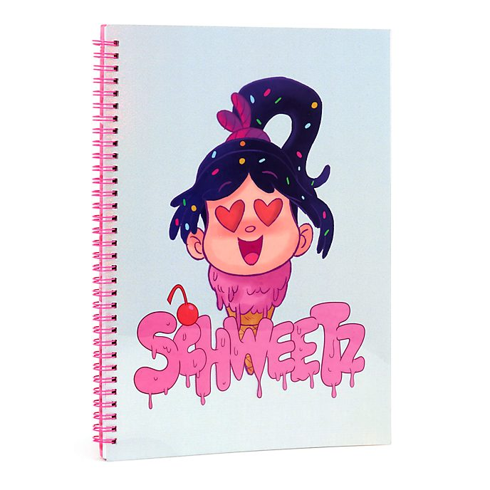 Cuaderno A4 Vanellope, Ralph rompe Internet, Disney Store