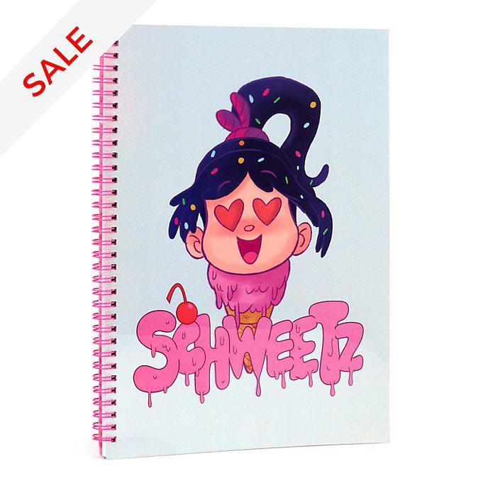 Disney Store Vanellope A4 Notebook, Wreck-It Ralph 2