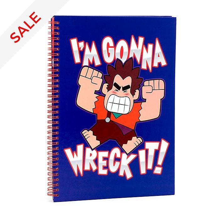 Disney Store Wreck-It Ralph 2 A4 Notebook