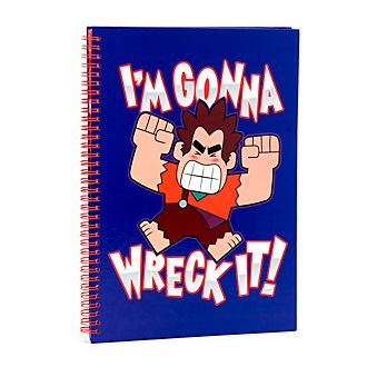 Disney Store Wreck-It Ralph 2 A4 Notebook
