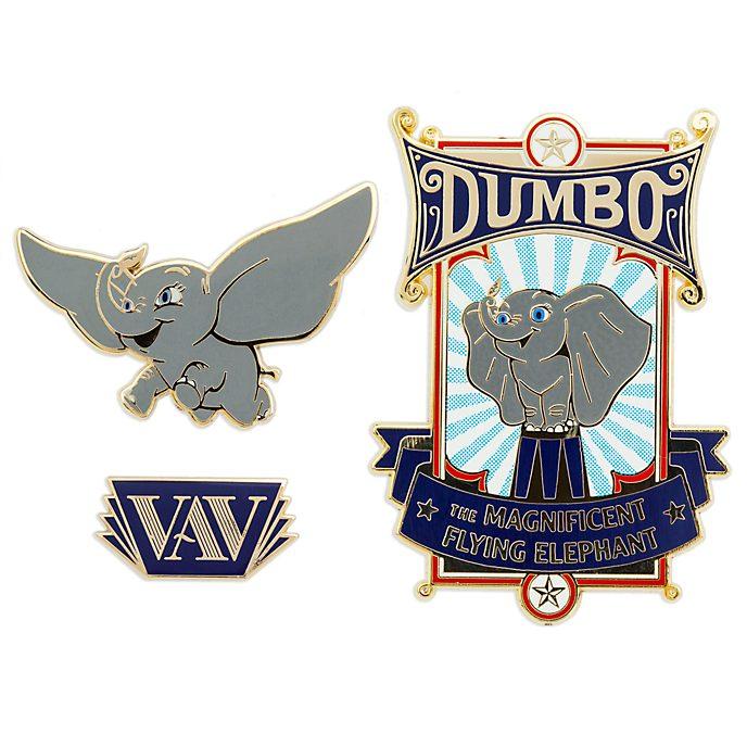 Juego de pines Dumbo, Disney Store