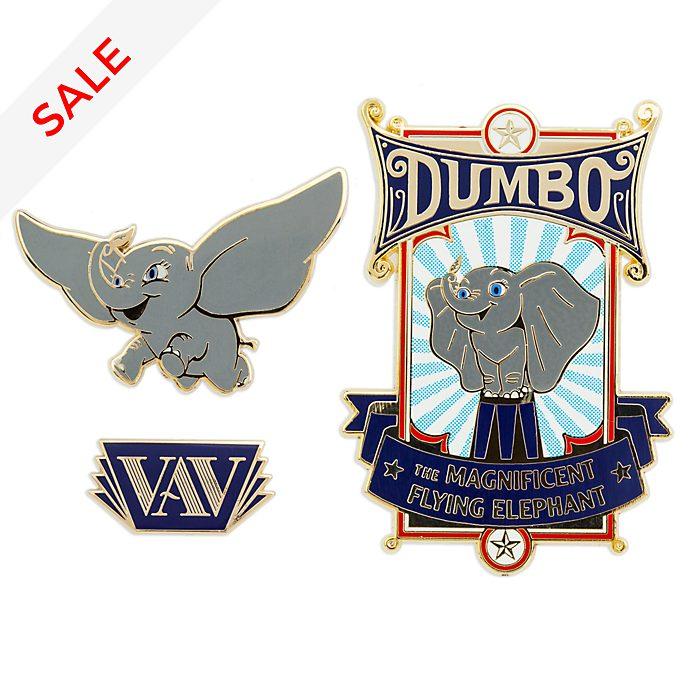 Disney Store Dumbo Pin Set