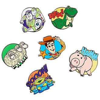 Disney Store Toy Story Pin Set