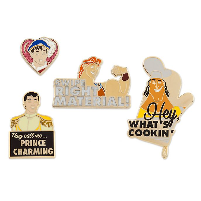 Disney Store Oh My Disney Prince Pin Set, 2 of 2