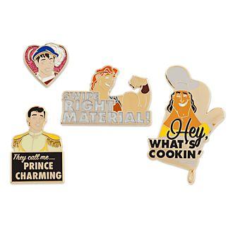 Set pins príncipes, Oh My Disney, Disney Store (2 de 2)
