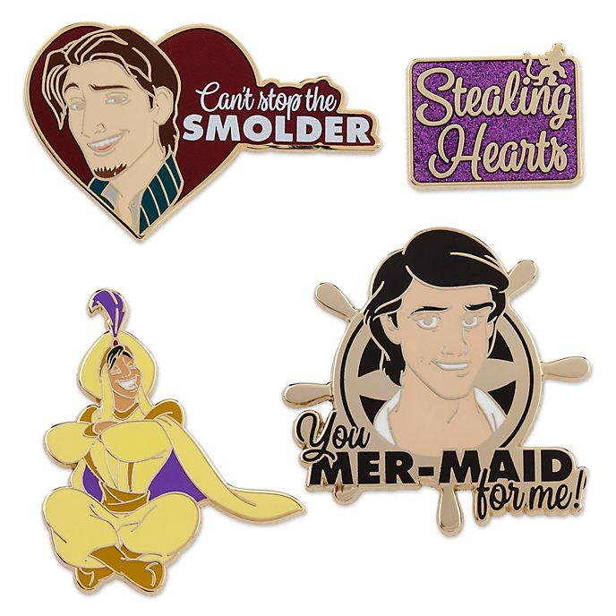 Disney Store Coffret de pin's des princes, 1sur 2, collection Oh My Disney