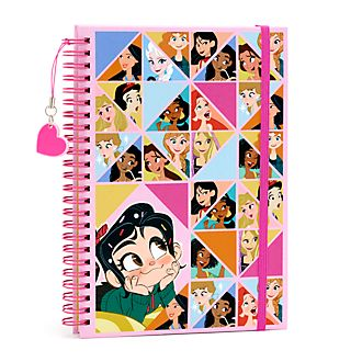 Disney Store Vanellope and Disney Princess Journal