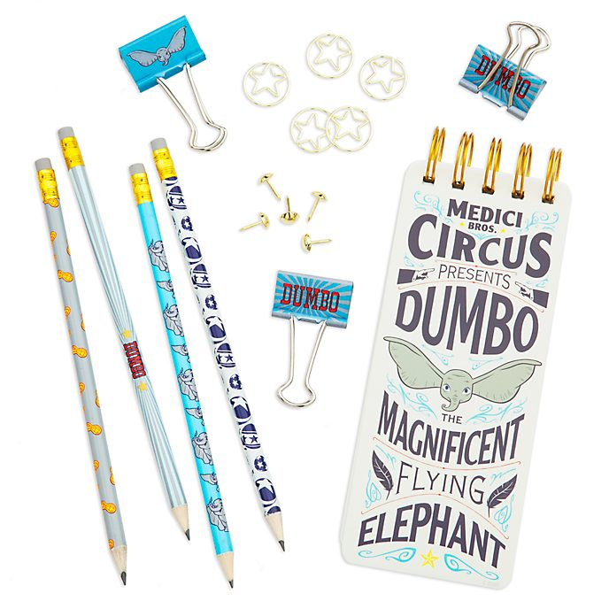 Set papelería Dumbo, Disney Store