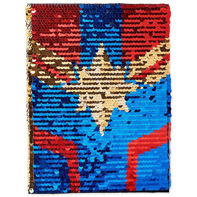 Disney Store Captain Marvel Reversible Journal