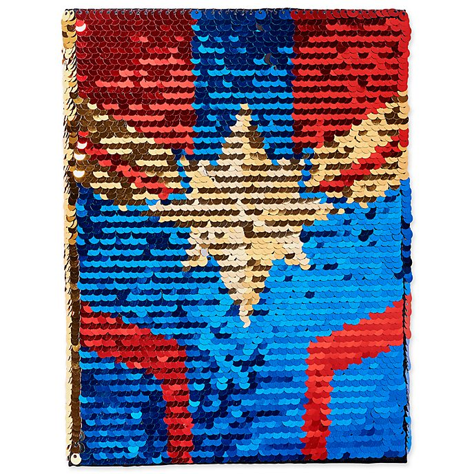 Disney Store Journal réversible Captain Marvel
