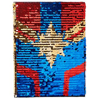 Disney Store Captain Marvel Reversible Journal