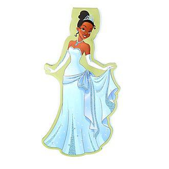 Quaderno a forma di Tiana, La Principessa e il Ranocchio Disney Store