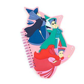 Disney Store Three Fairies Notebook, Sleeping Beauty