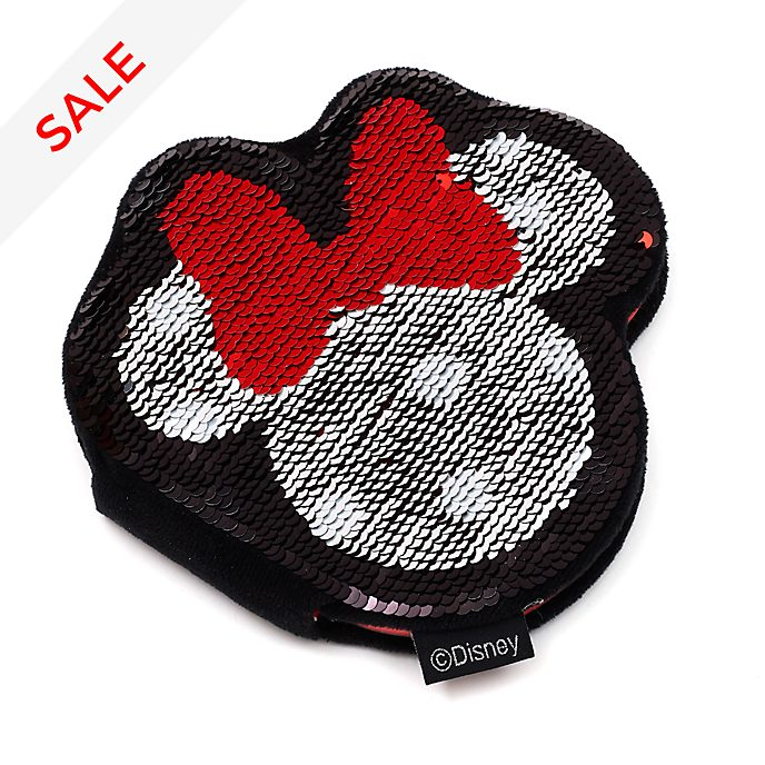 Disney Store Minnie Mouse Reversible Sequin Notebook
