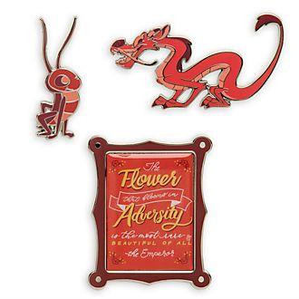 Disney Store Mulan Disney Wisdom Pin Set, 2 of 12