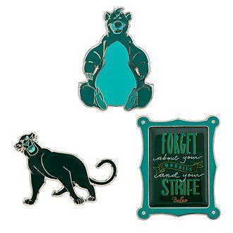 Disney Store The Jungle Book Disney Wisdom Pin Set, 3 of 12