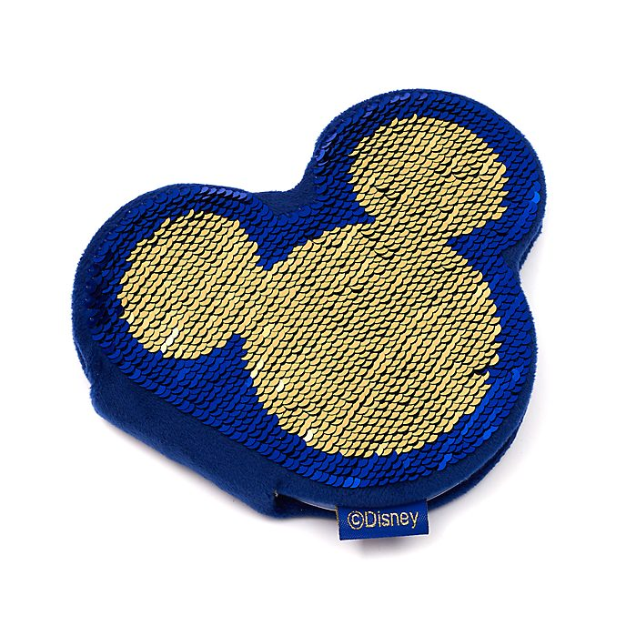 Disney Store Mickey Mouse Reversible Sequin Notebook