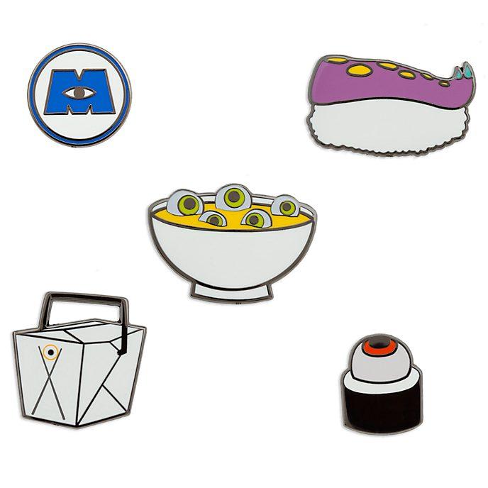 Disney Store Monsters Inc. Pins, Set of 5