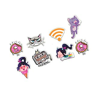 Disney Store Wreck-It Ralph 2 Character Stickers