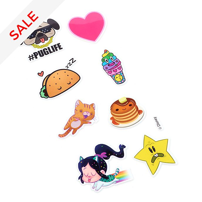 Disney Store Wreck-It Ralph 2 Stickers