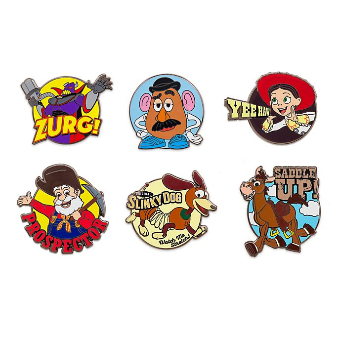 Set di pin Toy Story 2 Disney Store, 2 di 4