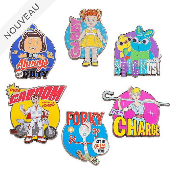 Disney Store Lot de pin's Toy Story4, 4 sur 4