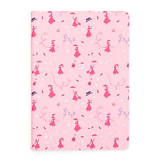 Disney Store Mary Poppins Returns Pink Notebook