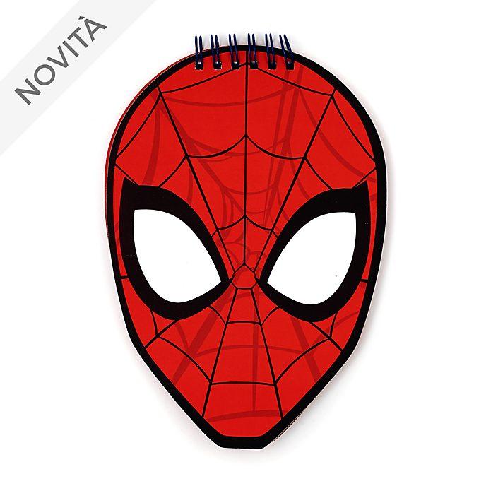 Quaderno a forma di Spider Man Disney Store