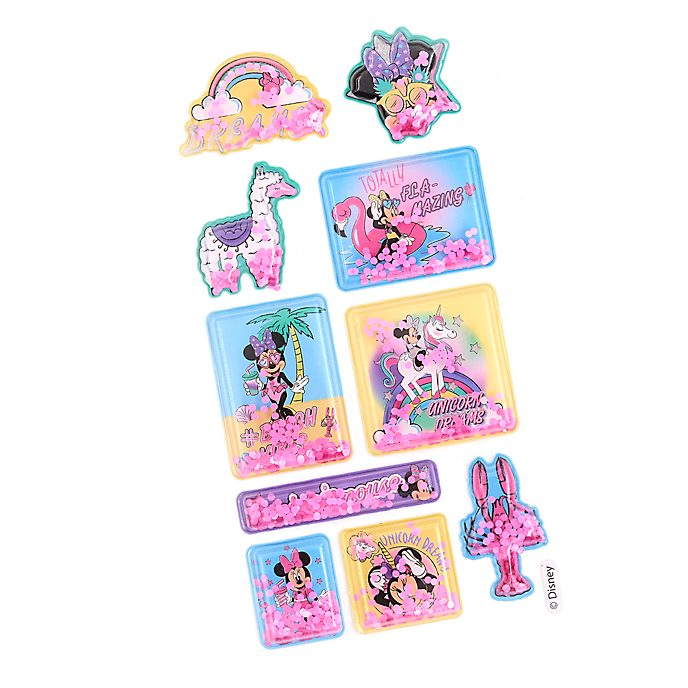 Disney Store Minnie Mouse Unicorn Stickers