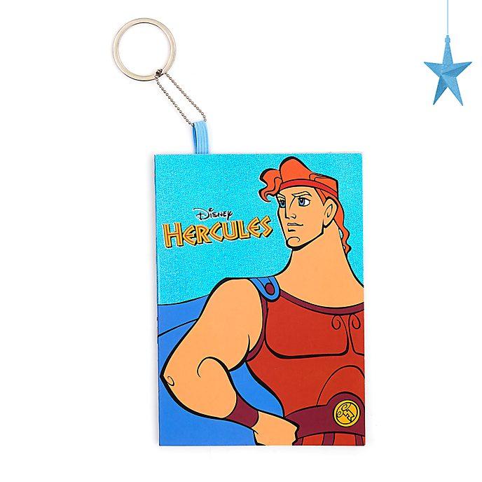 Cuaderno con llavero Hércules A6, Disney Store