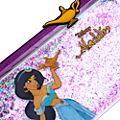 Disney Store Trousse Princesse Jasmine remplie de paillettes